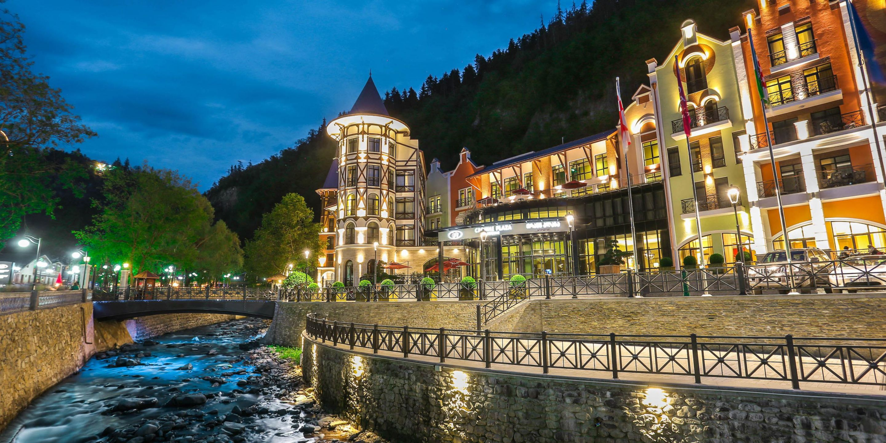 Crown Plaza, Borjomi